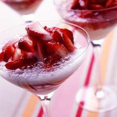 Découvrez la recette Soupe de champagne sur cuisineactuelle.fr.
