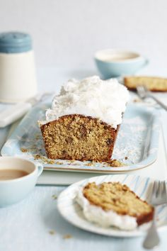 Coconut & Carrot Cake