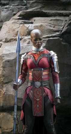 Florence Gurira as Ayo, Black Panther Black Panther 2018, Black Panther Marvel, Marvel Heroes, Marvel Dc Comics, Marvel Characters, Film Black, Wakanda Marvel, Marvel Comic Universe, Marvel Cinematic