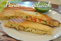 Paneer Sandwich - Grilled Paneer Sandwich Recipe / Easy Sandwich Recipes, kids favorite, paneer recipes, sandwich, sandwich recipes, breakfast recipes, lunch box recipes, snacks, tea time snacks, grilled paneer sandwich, paneer veg sandwich recipe with step by step photos, healthy sandwich recipe, nutritious snack, yummy sandwich, paneer veg sandwich - paneer recipes - sandwich recipes-How to make paneer sandwich paneer veg sandwich recipe, paneer toast sandwich recipe