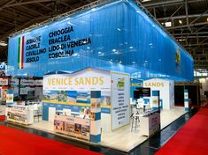 Another stand, another city to promote Venezia's Beaches. book your summer now! Here in Munich Munich Germany, New Opportunities, The Locals, Venice, Basketball Court, Challenges, Exhibitions, Architecture, Design