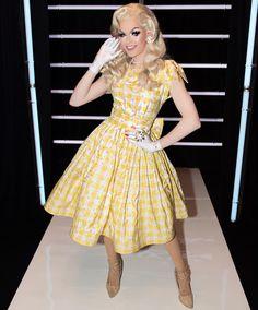 I do declare! Miss Blair St Clair! Drag Queen Outfits, Drag Queen Costumes, Drag Queens, Scarlett Johansson Dress, Blair St Clair, Rupaul Drag, Queen Makeup, Glamour, Pretty Men