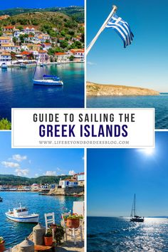 Are you planning a holiday in Greece? Here's your guide to sailing the Greek Islands which is the perfect way to explore the Greek Islands including which islands to visit and how to get there! I Greece travel I places to go in Greece I how to see the Greek Islands I Greece travel tips I best Greek Islands I Greece sailing I #Greece #GreekIslands Sailing Greece, Best Greek Islands, Greece Holiday, Beautiful Places To Travel, European Countries, Greece Travel, Travel Tips, Places To Go, Explore