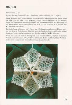 Rosemarie Schmuck & Anneliese Schroder - Dreidimensionale kloppelsterne - 2008 - Vea Fil - Álbumes web de Picasa