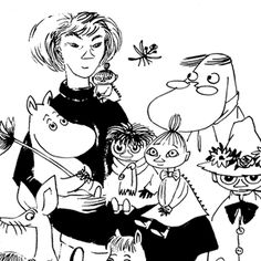 Owner of Moomin troll copyrights. Celebrates this year (2014) 100th anniversary of Tove Jansson, the author of original Moomin stories.