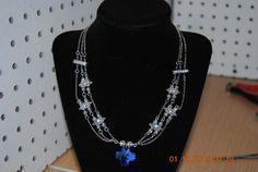 This is a beautiful three strand Swarovski by JEWELRYBYTWYLA, $24.99