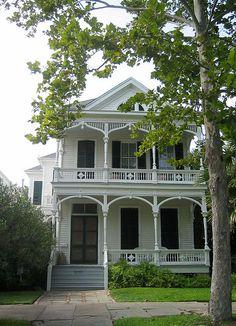 1612 Ball Street, Galveston, Texas by texastravel, via Flickr