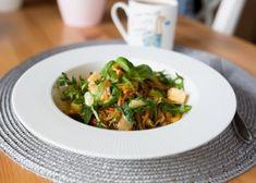 Rýžové nudle se zeleninou