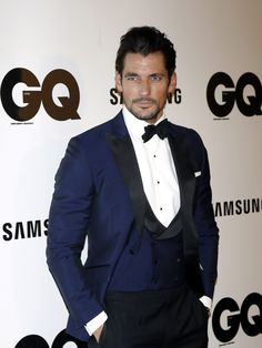 David Gandy Looks Very Handsome At The 2014 GQ Men of the Year Awards