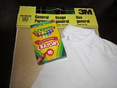 Pinterest Addicted: Sand Paper T-Shirt Craft