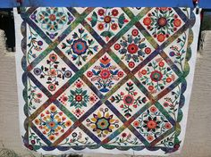 Rose of Sharon by Jessica's Quilting Studio, via Flickr