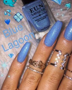 What Christmas manicure to choose for a festive mood - My Nails Gorgeous Nails, Pretty Nails, Hair And Nails, My Nails, Acryl Nails, Cute Acrylic Nails, Nagel Gel, Blue Nails, Nails On Fleek