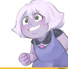 Steven universe, fandom, Amethyst (SU), SU Characters, SU art, bene-aby