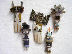 Hopi Old Style Katsinam