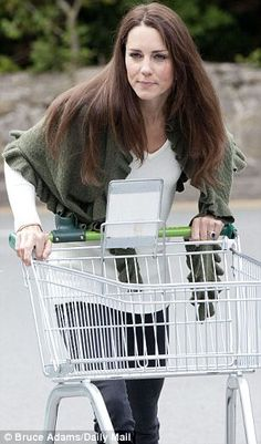 I love this picture of Catherine.  Just a normal girl who one day will be the Queen