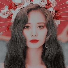 Red Aesthetic, Kpop Aesthetic, Aesthetic Pictures, Kpop Girl Groups, Kpop Girls, K Pop, People Tumblr, Song Kang Ho, Warner Music