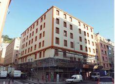 Fachada rehabilitada con sistema SATE en Bilbao