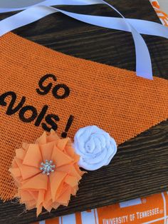 A personal favorite from my Etsy shop https://www.etsy.com/listing/471437384/go-vols-tennessee-dog-bandana-burlap