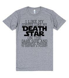 Death Star Coffee | T-Shirt | Front