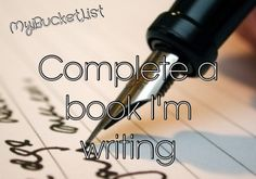 Haven't started writing one but have thought of a few good story lines and would love to write a book.
