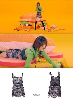 EXID I Love You MV Fashion - Jeonghwa