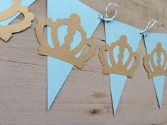 Poco príncipe azul y reluciente de oro Baby por papermeblossom