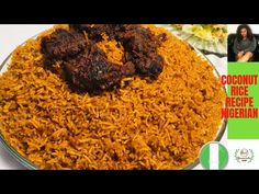 ✅ NIGERIAN COCONUT JOLLOF RICE RECIPE / EASY STEP BY STEP GUIDE FOR BEGINNERS - YouTube Yellow Rice Recipes, Easy Rice Recipes, Learn To Cook, Food To Make, Ghana Food, Jollof Rice, Cooking For Beginners, Coconut Rice, Cooking Time