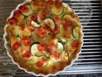 Rezept Polentaauflauf mit Zucchini u Tomaten von Pino's Mami - Rezept der Kategorie Hauptgerichte mit Gemüse