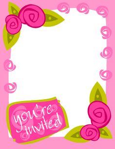 Wedding Invitation Clipart.