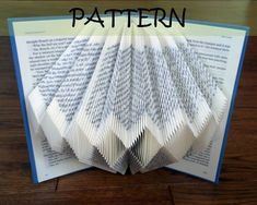 2 Book folding Patterns: DIAMOND designs (including instructions) – DIY gift – Papercraft Tutorial