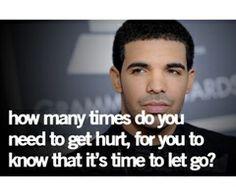 Just because I let go doesnt mean I forgot