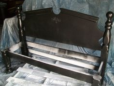 we have made several of these! benches from beds
