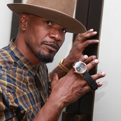 Who doesn't love Jamie Fox!!! He has the Fortitude Rose watch in our Civil line which is one of our favorites.