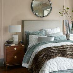 Malone Campaign Bedside Table - Walnut W51cm £329 West Elm