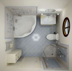agencement salle de bain avec baignoire d'angle, cabine de douche d'angle, cuve et lavabo