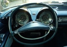 1957 Chrysler Imperial dashboard is happy to take a Sunday spin. Mercedes Benz 300 Sl, Funny Road Signs, The Frankenstein, Imperial Crown, Chrysler Imperial, Bahama Blue, Us Cars, Dashboards, Vacation Trips