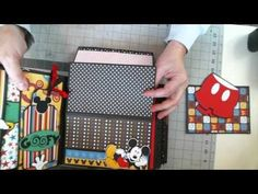 Disney Scrapbook 8 x 8 Interactive Album - YouTube