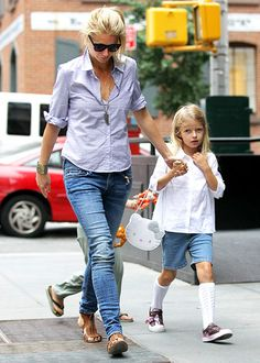 Gwyneth Paltrow. Love her casual looks--they scream comfort to me.
