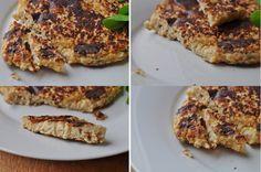 Galette de flocons d'avoine au fromage toastinette et persil