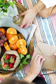 summer picnic for a laid back mothers day celebration
