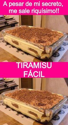 Baking Recipes, Cake Recipes, Tiramisu Trifle, Food Videos, Cake Videos, Coffee Dessert, Italian Desserts, Mini Foods, Desert Recipes