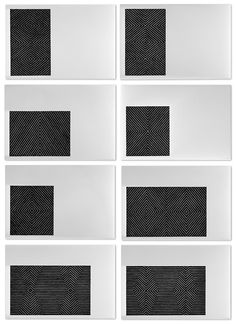 Black Series II | Frank Stella, Black Series II (1967)