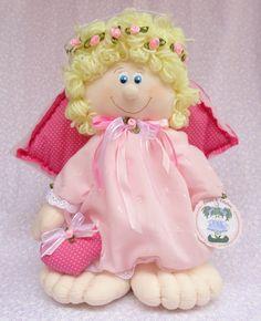 Cupido Rosa - 35cm   Ateliê Boneca de Retalhos   1AC5C5 - Elo7