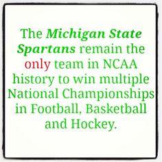Fun fact about MSU Athletics.
