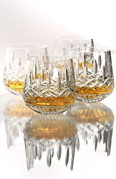 Whiskey cut glass