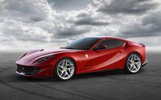 Ferrari 812 Superfast, 2018 cars, supercars, Ferrari