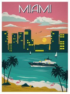 1980 miami poster - Google Search
