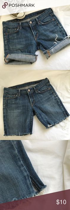 Citizens of Humanity Cutoffs comfy and cute COH cutoff shorts. Originally Kelly jeans these cute cutoffs are perfect for summer. Can be cuffed, worn longer or just cut to suit your style. Limited wear, in good condition. Citizens of Humanity Shorts Jean Shorts