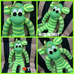 Neon monkey love my monkeys