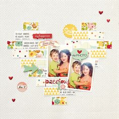 #papercrafting #scrapbook #layout idea: Tuesday Inspiration: Frame Gallery